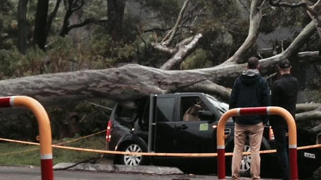Car avalon - Burst pipes and the #sydneystorm