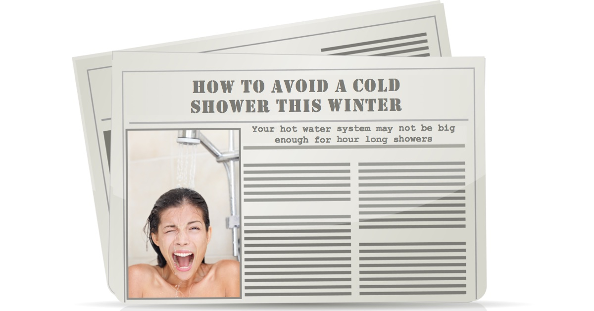 Avoid cold showers - How to avoid a cold shower this winter