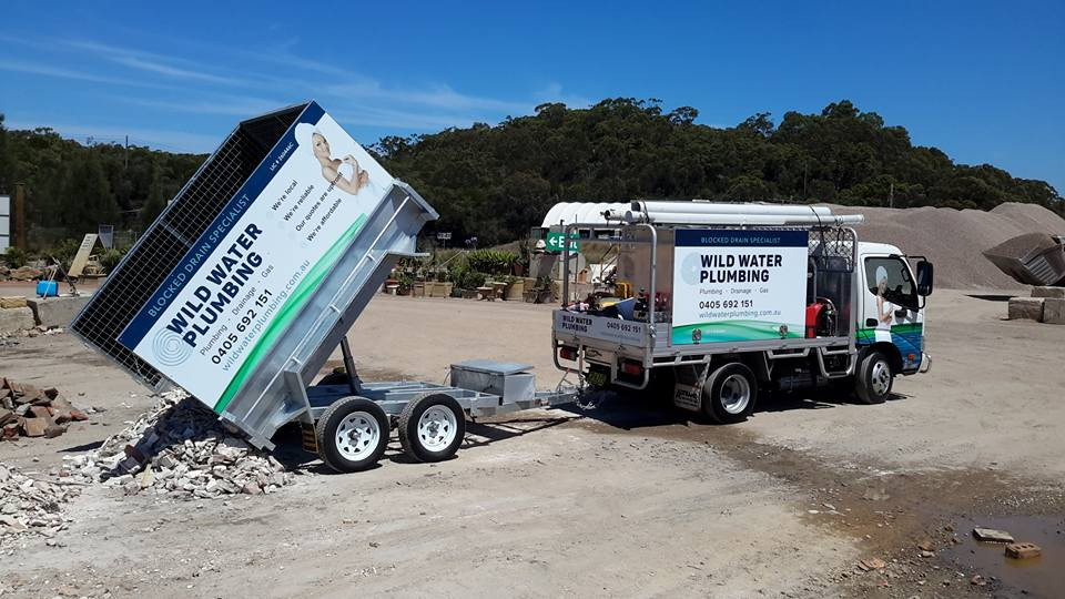 New Trailer for Wild Water Plumbing Northern Beaches