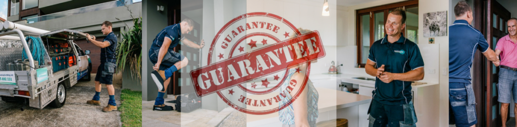 Plumber Northern Beaches Guarantee